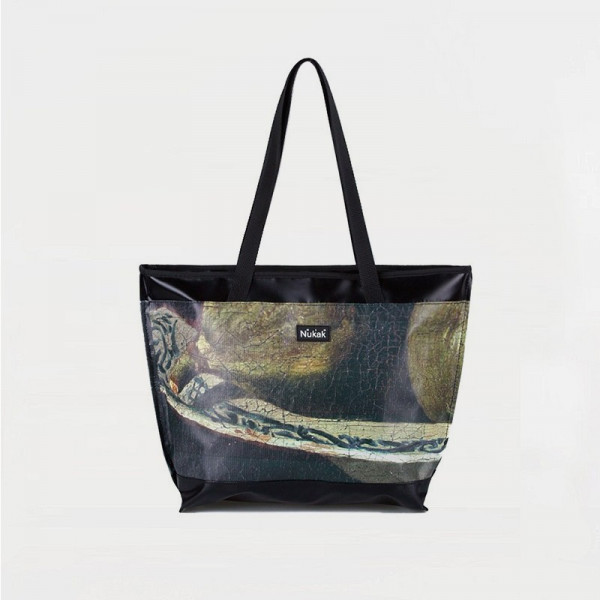 TOTE BAG MARRON