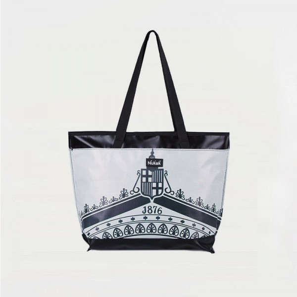 TOTE BAG BLACK AND WHITE