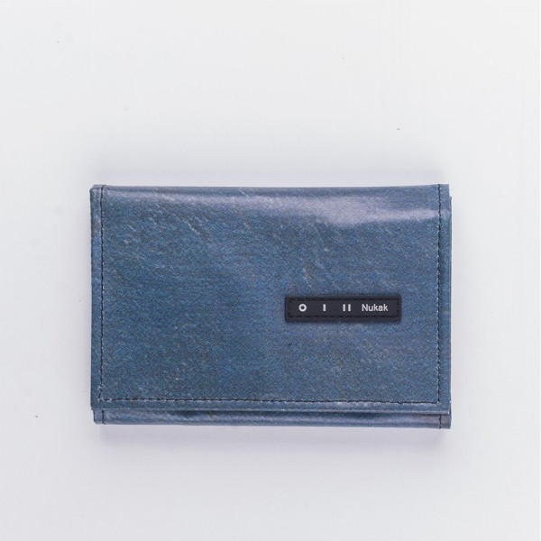 WALLET PEPPER BLUE TEXTURE