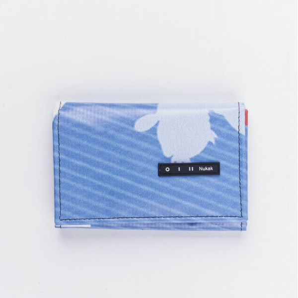 WALLET PEPPER BLUE STRIPES