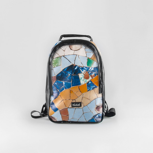 BACKPACK BLUE AND YELLOW