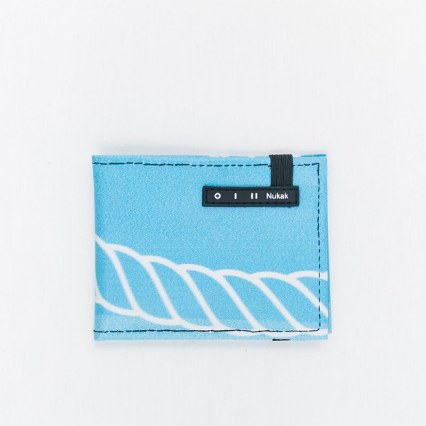 WALLET VESKI BLACK AND WHITE FACE