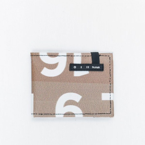WALLET VESKI BROWN LETTERS