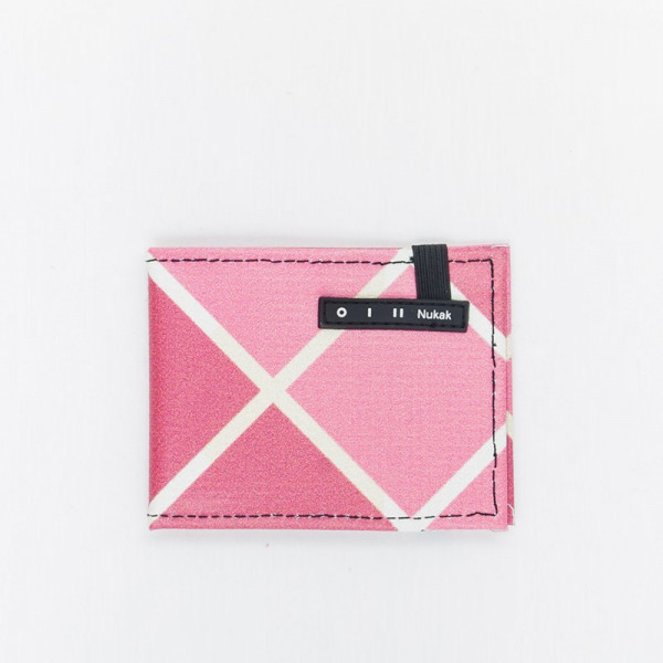WALLET VESKI PINK WITH CROSS
