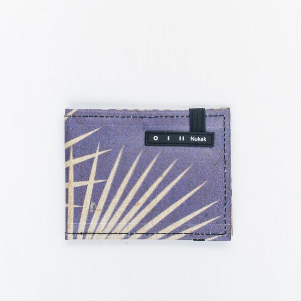 WALLET VESKI PURPLE PALM