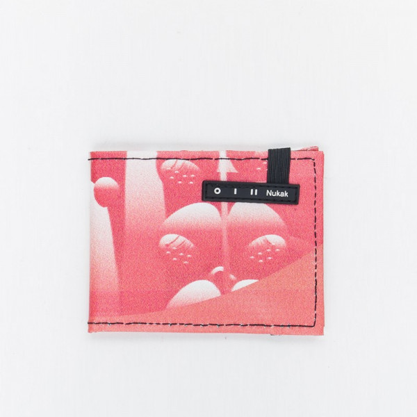 WALLET VESKI RED FLOWERS