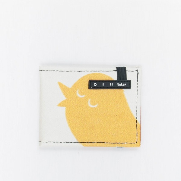 WALLET VESKI YELLOW BIRD
