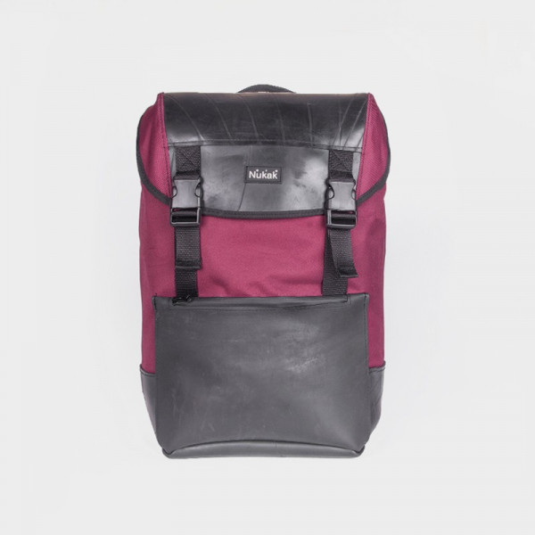 BACKPACK OTTO TIRE TRUCK GARNET