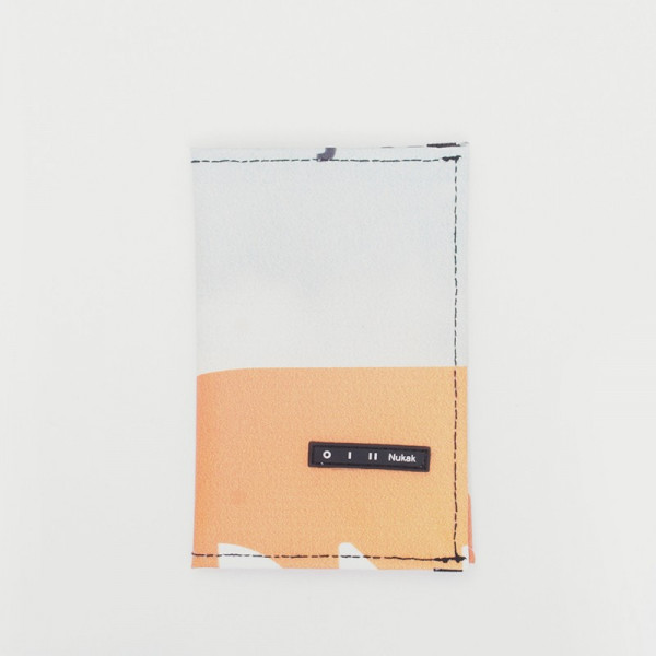 PASSPORT HOLDER GIFFER WHITE AND YELLOW