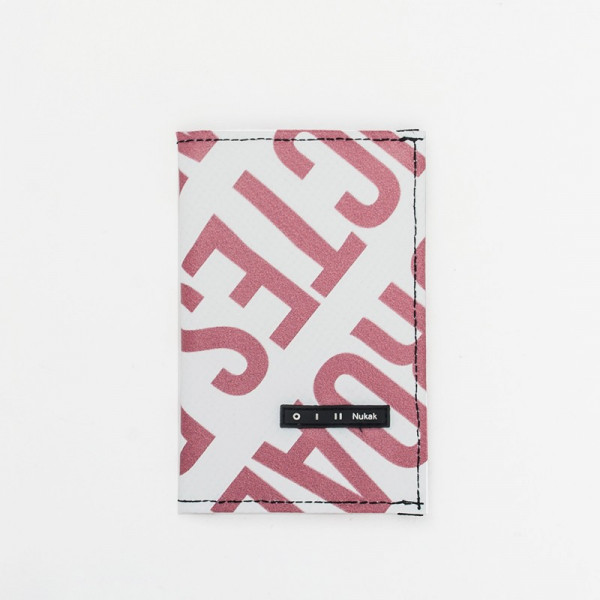 PASSPORT HOLDER GIFFER RED LETTERS