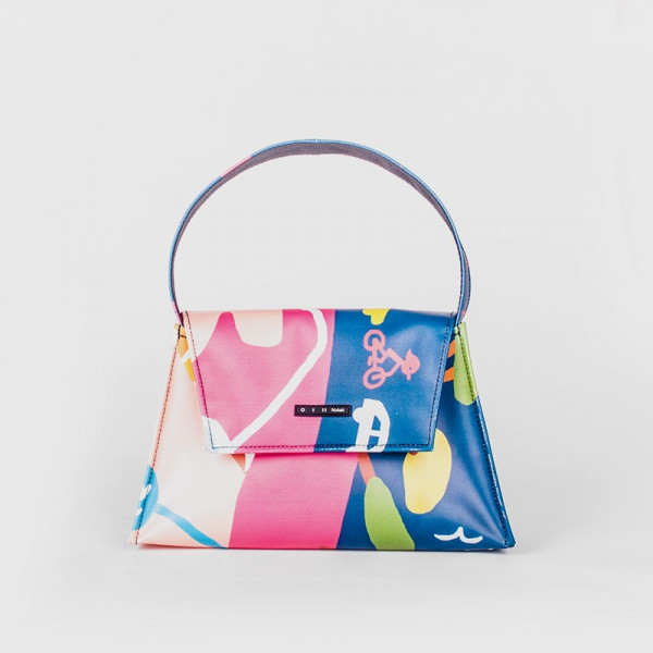 TOTE BAG KELLY COLORFUL