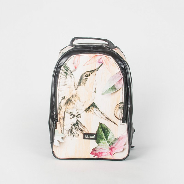 BACKPACK MOSAIC ILLUSTRATION