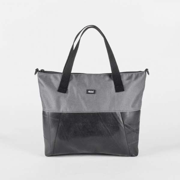 TOTE BAG CICA GREY TRUCK TIRES