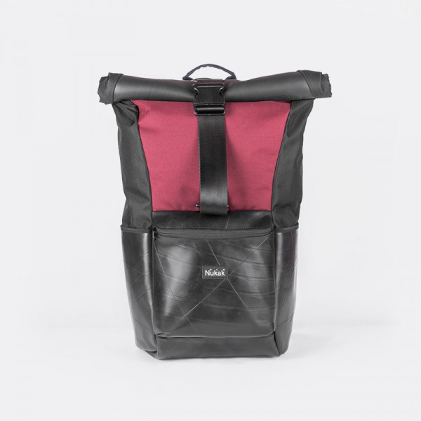 BICYCLE INNER TUBE ROLLTOP BACKPACK ARCE