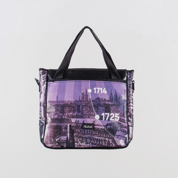TOTE BAG FRIDA PURPLE