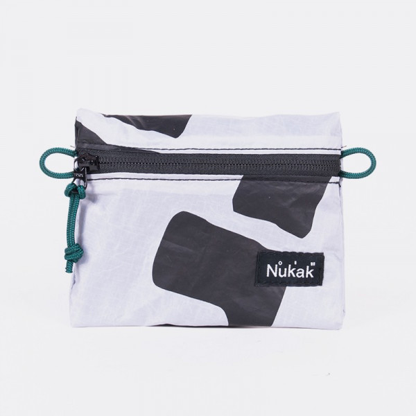 PURSE BALI KITE WHITE AND BLACK