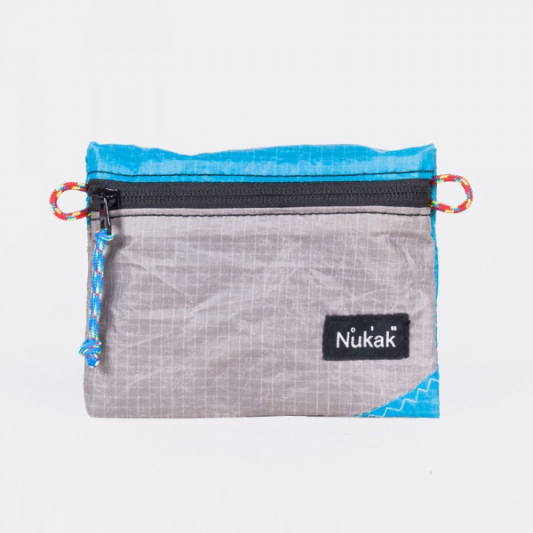 PURSE BALI KITE GREY AND BLUE