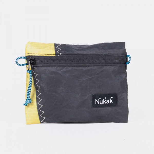 PURSE BALI KITE BLACK AND YELLOW