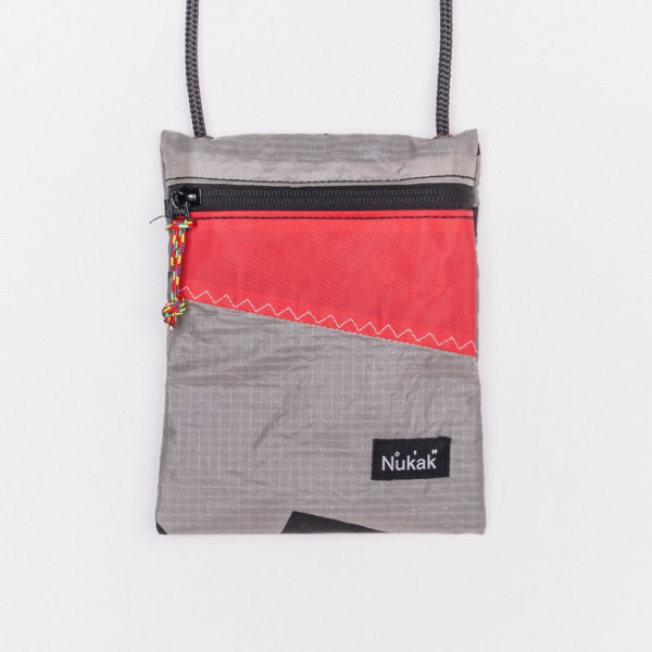 Waist Bag Stanley grey and red