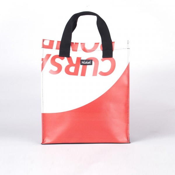 TOTE BAG VIENETTA RED LETTERS