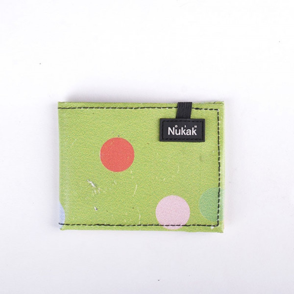 WALLET VESKI GREEN DOTS