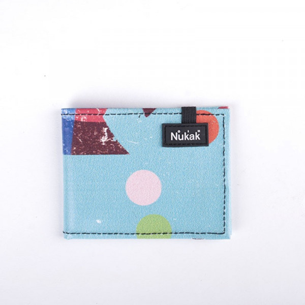 WALLET VESKI BLUE DOTS