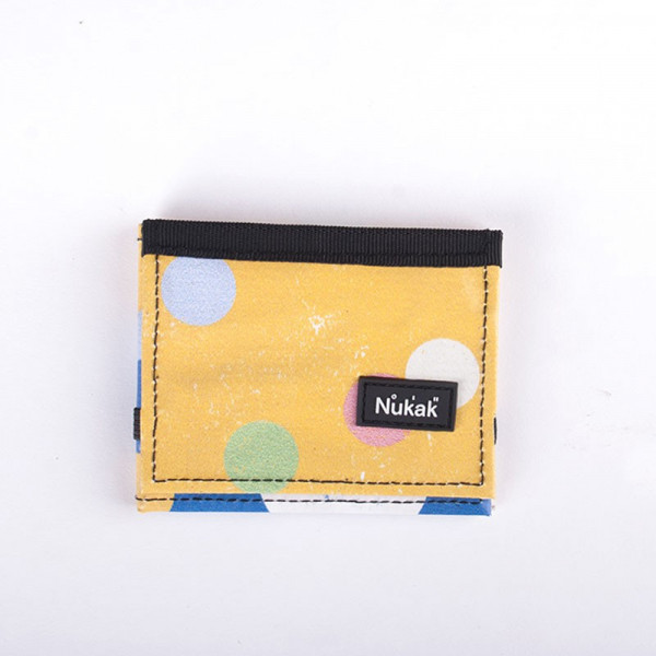 WALLET LOMPAKKO YELLOW DOTS