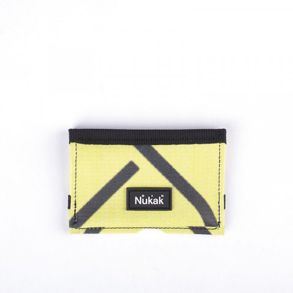 MICRO WALLET YELLOW LINES