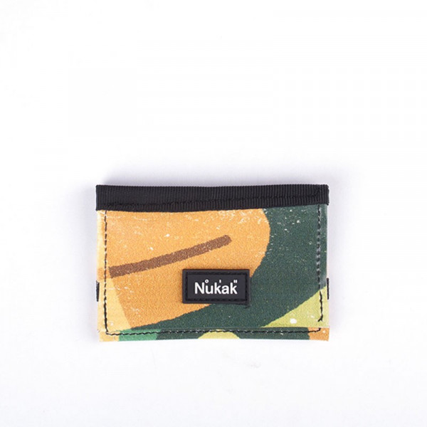 MICRO WALLET GREEN & ORANGE