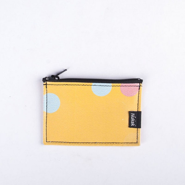 PURSE YELLOW DOTS