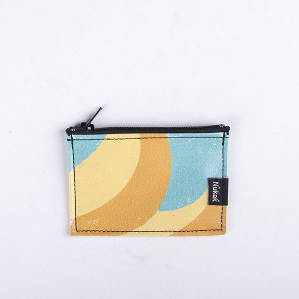 PURSE YELLOW & BLUE