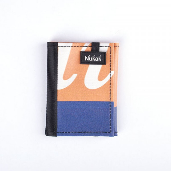 WALLET KUKKARO ORANGE AND PRUPLE