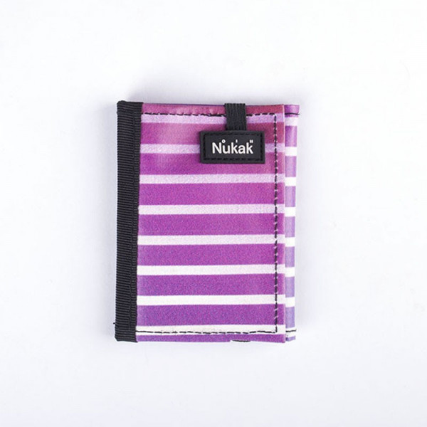 WALLET KUKKARO PURPLE LINES