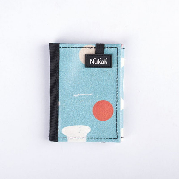 WALLET KUKKARO BLUE DOTS