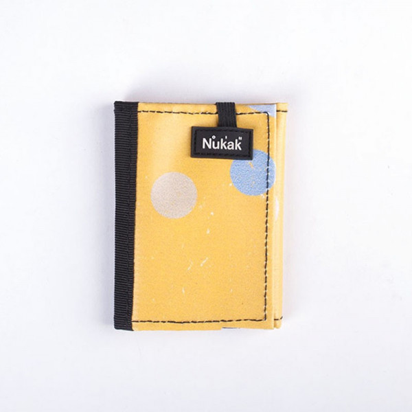 WALLET KUKKARO YELLOW DOTS