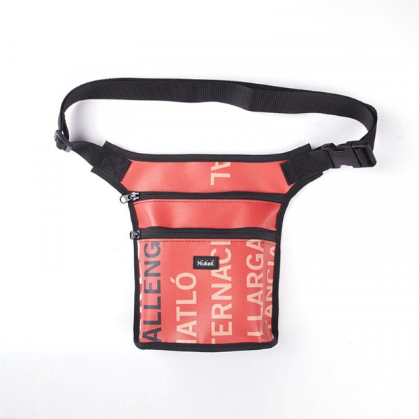 WAIST BAG SEED RED LETTERS
