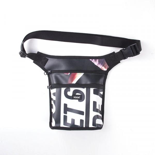 WAIST BAG SEED BLACK LETTERS