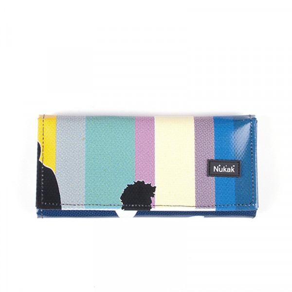 WALLET MIEL COLOR LINES
