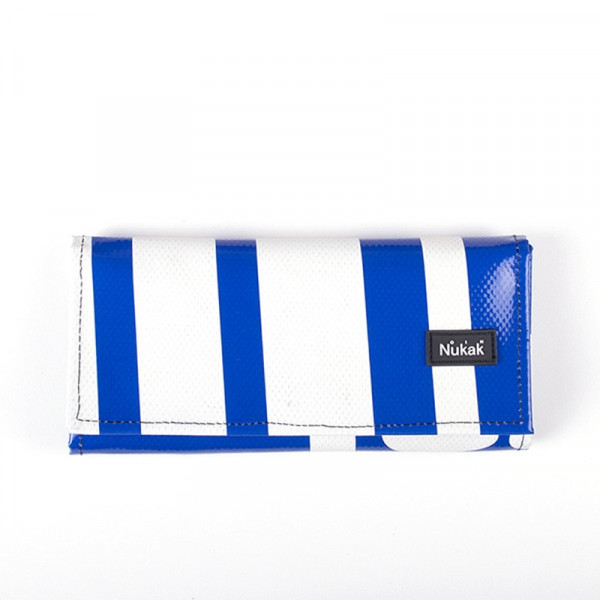 WALLET MIEL BLUE & WHITE