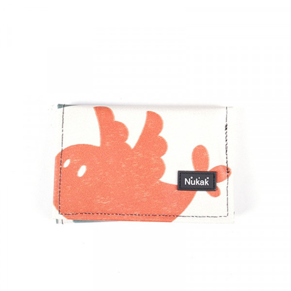 WALLET PEPPER ORANGE BIRD