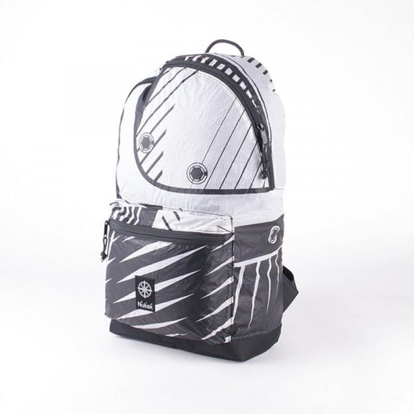 SIROCO BACKPACK BLACK & WHITE 2