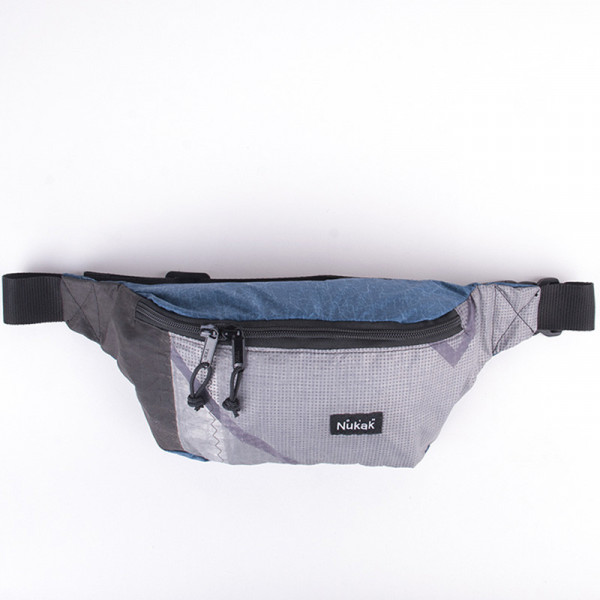 WAIST BAG TYLER BLUE & GREY