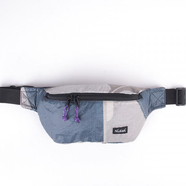 WAIST BAG TYLER GREY & BLUE