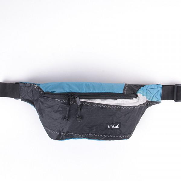 WAIST BAG TYLER BLACK & BLUE