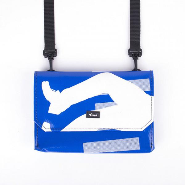 CLUTCH BAG SHANG BLUE