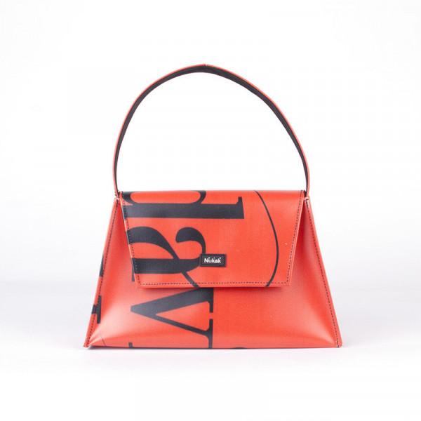 TOTE BAG KELLY RED