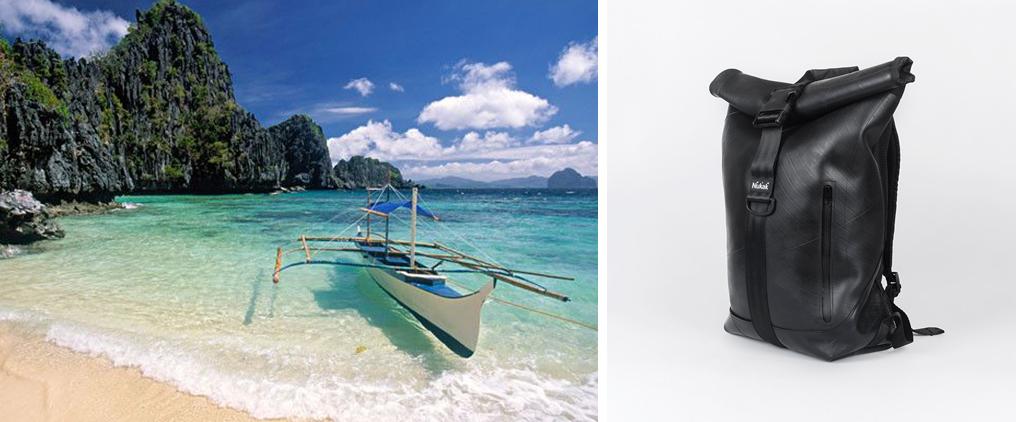 beach, south asian, nukak, bags, discover, bag, arce