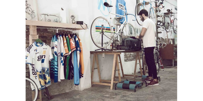 MONSIEUR VÉLO: MECHANIC, COLLECTOR, RECYCLING-LOVER