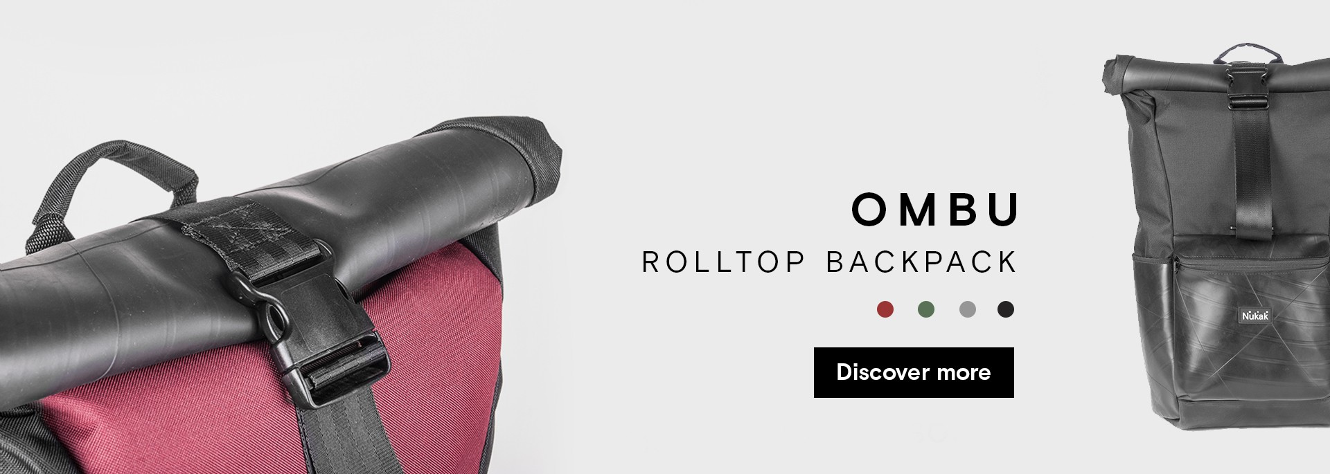 Ombu, new rolltop backpack