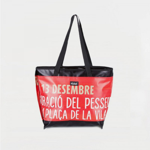 TOTE BAG RED AND YELLOW